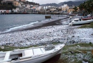Neve  Isole Eolie